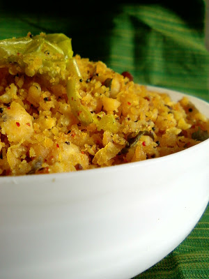 Kalchina Aratikaya Podi Kura ~ Roasted Raw Banana Curry