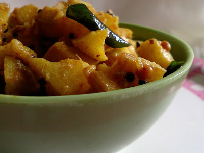 Sweet and Sour Plantain Curry