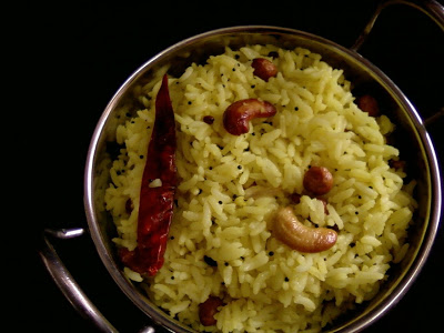Dabbakaya Pulihora (Chitrannam) ~ Indian Grapefruit Rice