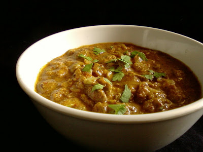 Chikkudu Ginjala Masala ~ Indian Broad Bean Seeds Curry