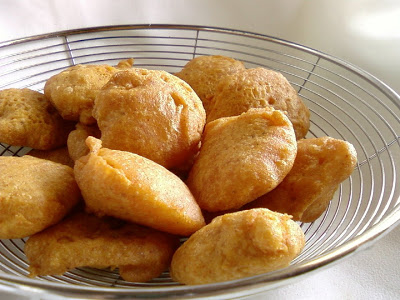 Chilakada Dumpa Bajji ~ Sweet Potato Fritters