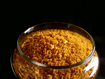 Palli Putnala Podi ~ Spicy Peanuts and Dalia Powder