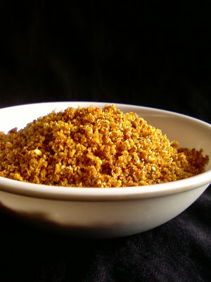 Aratikaya Podi ~ Spicy Plantain Powder