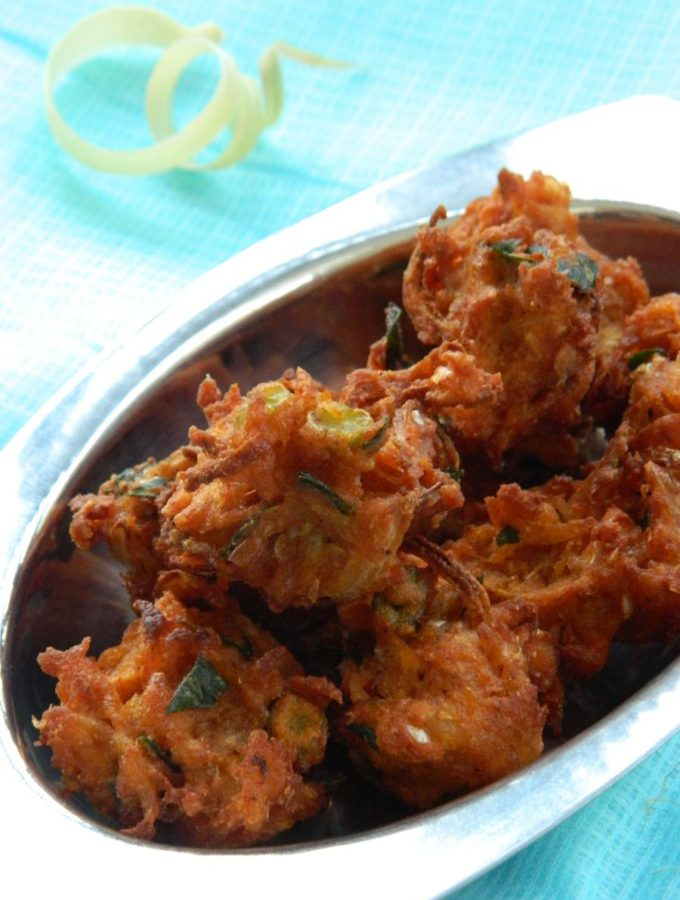 Mixed Vegetable Corn Pakoda Recipe