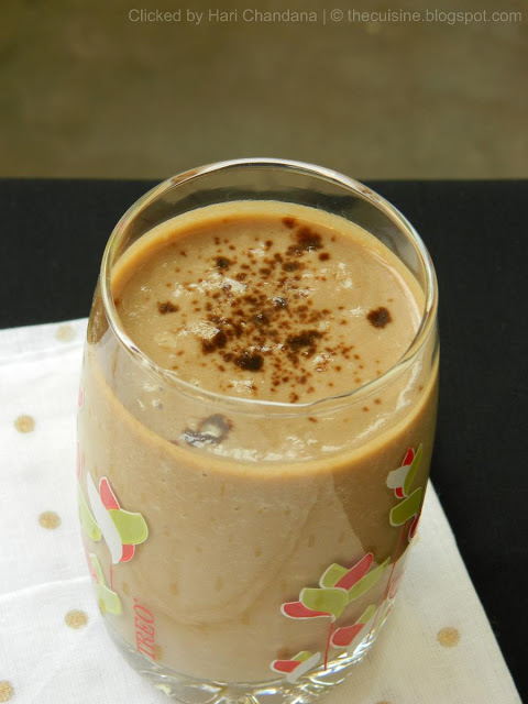 Coffee and Banana Milkshake Recipe