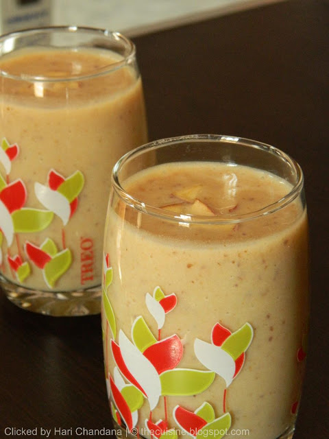 Apple & Dates Milkshake Recipe