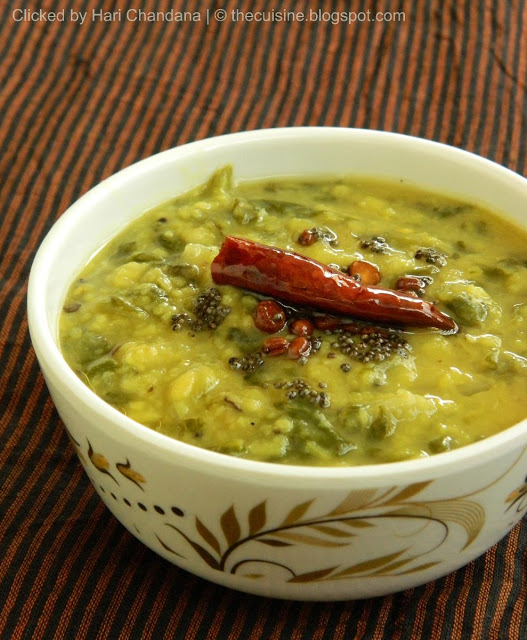 Moong & Spinach Dal Recipe