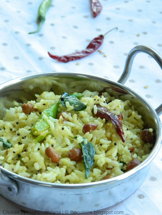 Velakkaya Pulihora Recipe – Wood Apple Rice Recipe – Pulihora Varieties