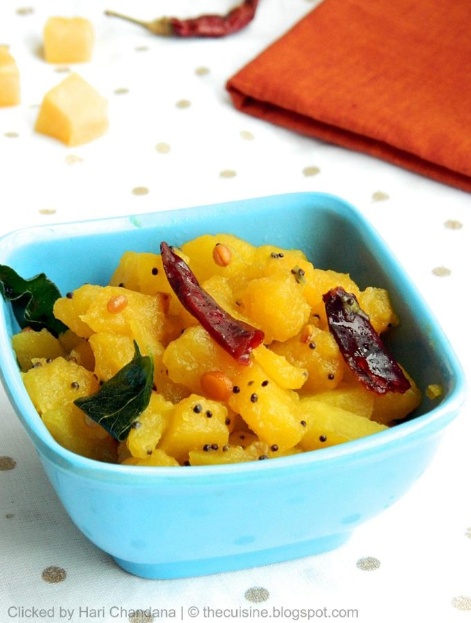 Pumpkin Curry with Tamarind & Jaggery