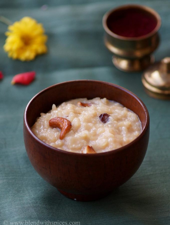 Bellam Paramannam Recipe ~ Sankranthi Naivedyam Recipes