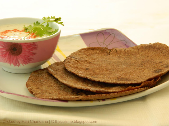 Ragi Roti ~ Traditional Finger Millet Flat Bread ~ Step by Step Recipe