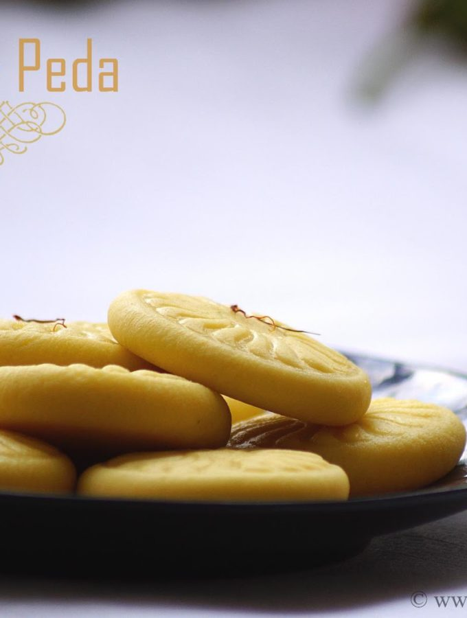 Kesar Peda Recipe – Step by Step Recipe – Krishna Janmashtami Special Recipes