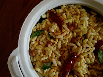 Karam Maramaralu ~ Spicy Puffed Rice