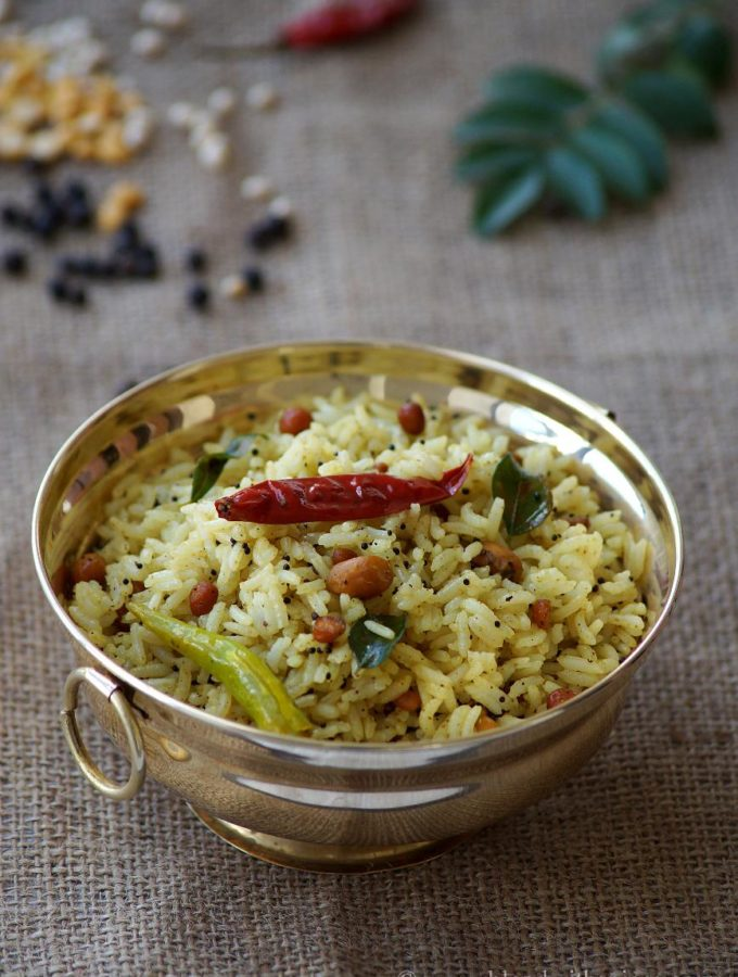Miriyam Pulihora Recipe – Pepper Tamarind Rice – Navaratri Naivedyam Recipes