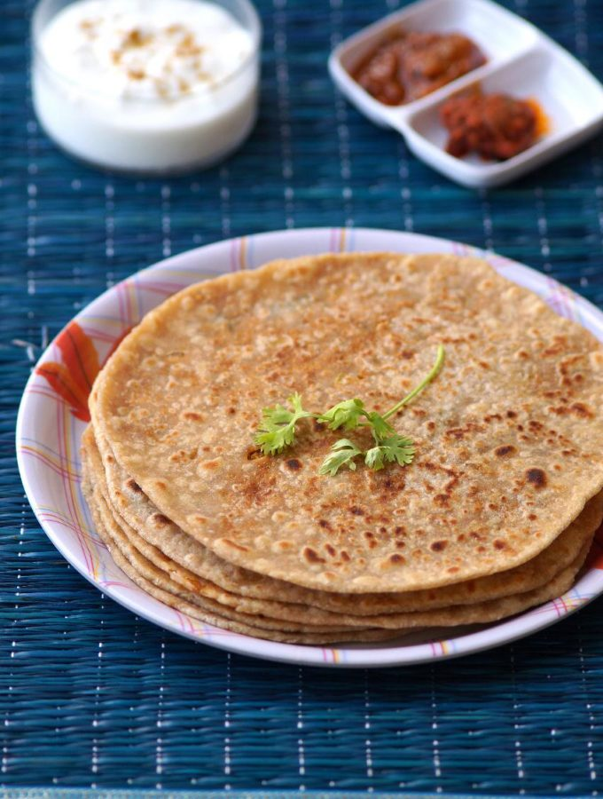 Soya Paratha Recipe – How to make Soya Paratha – Soya Chunks Recipes