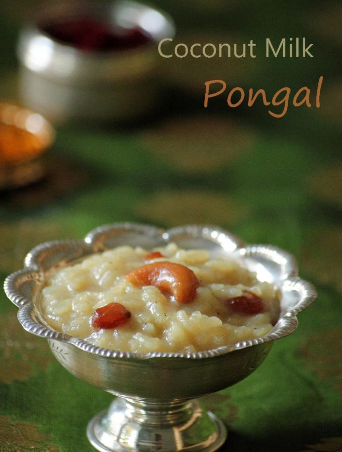 Kobbari Pala Paramannam Recipe – How to make Coconut Milk Pongali – Varalakshmi Vratham Recipes